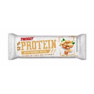 Twiggy Protein s kousky arašídů 65 g