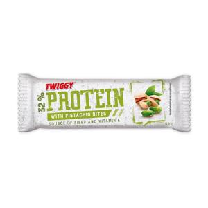 Twiggy Protein s kousky pistácií 65 g