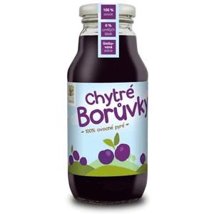 Chytré ovoce Chytré borůvky 100% 315 ml
