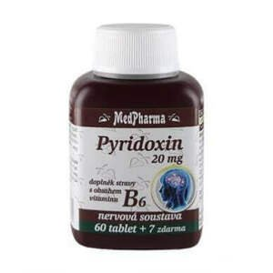 MedPharma Pyridoxin 20 mg+vit B6 67 tablet