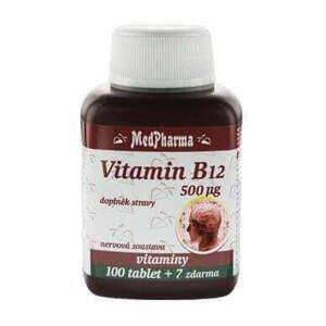 MedPharma Vitamin B12 (kyanokobalamin) 500 µg 107 tablet