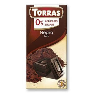 Torras Hořká čokoláda 52% 75 g