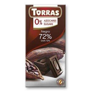 Torras Hořká čokoláda 72% 75 g