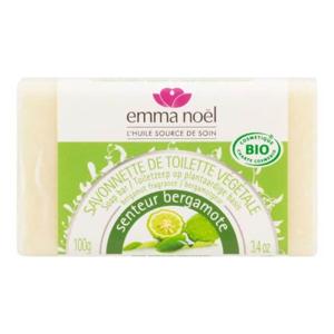 EMMA NOËL Mýdlo rostlinné bergamot 100 g BIO