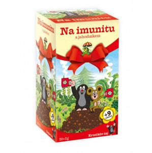 Apotheke Krtečkův čaj Na imunitu s jahodníkem 20x2 g