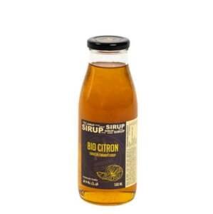 Hradecké delikatesy Citronový sirup BIO 500 ml