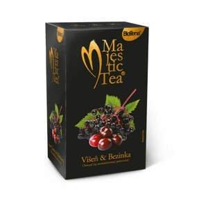 Biogena Majestic Tea Višeň a bezinka 20+5 zdarma