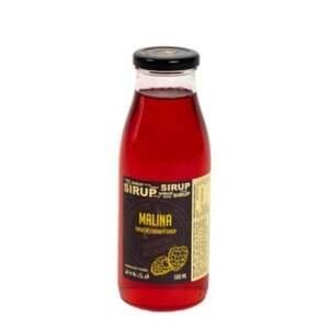 Hradecké delikatesy Malinový sirup 500 ml