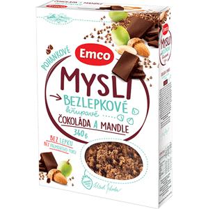 Emco Mysli Pohankové - Čokoláda a mandle 340 g