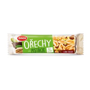 Emco Tyčinka Ořechy a pistácie 35 g