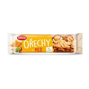 Emco Tyčinka Ořechy a med 35 g