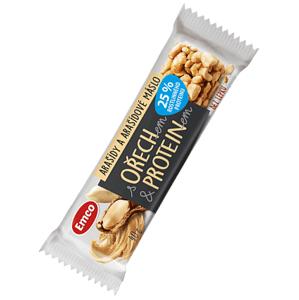 Emco Tyčinka s ořechem, proteinem - arašídy 40 g