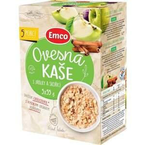 Emco Ovesná kaše s jablky a skořicí 5x55 g