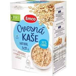 Emco Ovesná kaše natural 30% cukru 5x55 g