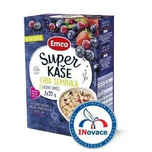 Emco Super kaše Chia semínka a lesní směs 3x55 g doprodej DMT 31.5.20