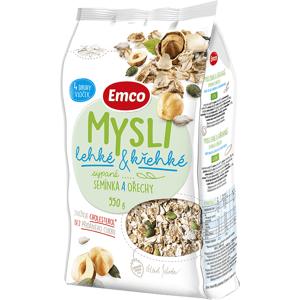 Emco Mysli Sypané lehké a křehké - semínka a ořechy 550 g