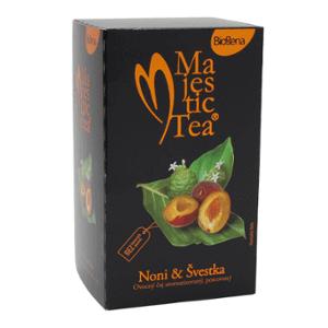 Biogena Čaj Majestic Tea Noni & švestka 20 x 2,5 g