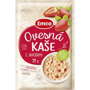 Emco Ovesná kaše s jahodami 55 g sáček