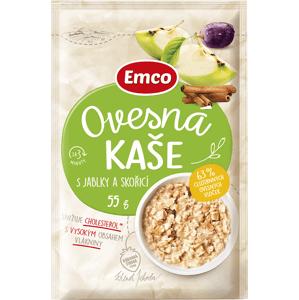 Emco Ovesná kaše s jablky a skořicí 55 g sáček