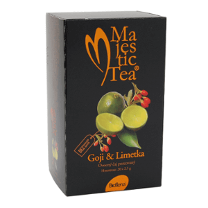 Biogena Majestic Tea Goji - Limetka 20 x 2,5 g