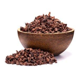 GRIZLY Kakaové boby nepražené zlomky BIO 500 g