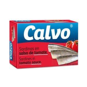 Calvo Sardinky v rajčatové omáčce 120 g