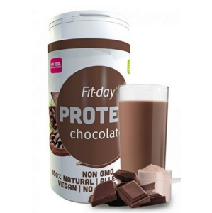 Fit-day Protein čokoládový 600 g doprodej