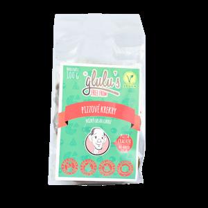 Glulu's Pizzové krekry, nízký obsah cukru 100 g