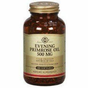 Solgar Pupalkový olej 500mg 180 tablet