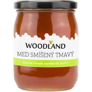 Woodland smíšený tmavý med 720 g