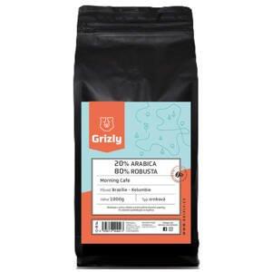 GRIZLY Zrnková káva 20/80 Morning Coffee 1000 g