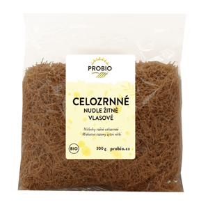 Bioharmonie Žitné celozrnné vlasové nudle BIO 300 g