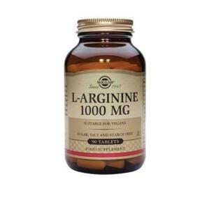 Solgar L-Arginin 1000 mg 90 tablet