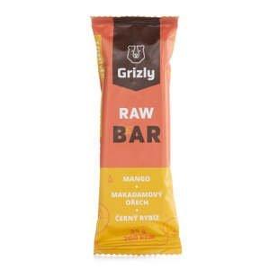 GRIZLY RAW Bar mango-makadam-černý rybíz 55 g
