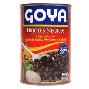 Goya Černé fazole s olivovým olejem, paprikou a cibulí 425 g
