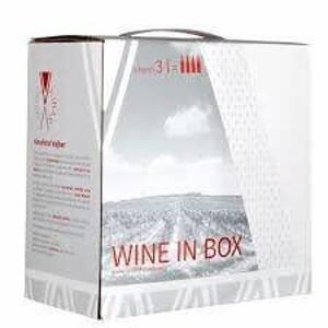 Vajbar Sauvignon moravské zemské víno 2018 suché Bag-in-box 3 l
