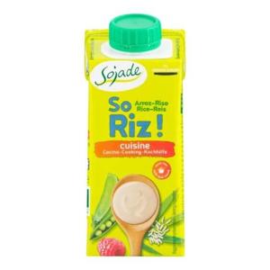 Sojade Rýžová alternativa smetany BIO 200 ml