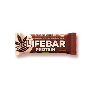 Lifefood Lifebar Protein Choco green BIO RAW 47 g