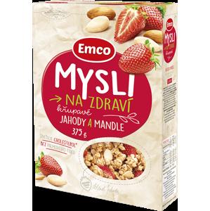 Emco Mysli - Jahody a mandle 375 g - expirace