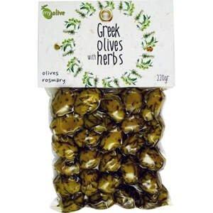 my olive Marinované olivy v rozmarýnu 220 g