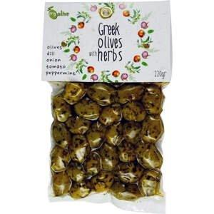my olive Marinované olivy zeleninou a mátou peprnou 220 g