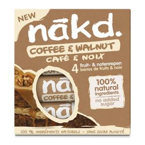 Nakd Káva a vlašský ořech 4 x 35 g