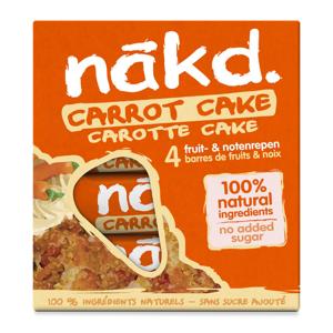 Nakd Carrot cake 4 x 35 g