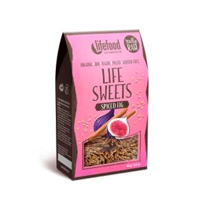 Lifefood Life Sweets Perníkové lněnky s fíky BIO RAW 80 g
