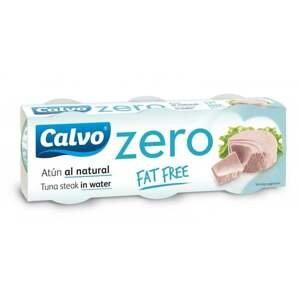 Calvo Zero tuňák bez obsahu tuku 3x65 g
