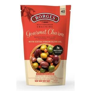 Borges Olivy Snack Gourmet charm s peckou 350 g