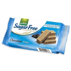 Gullón Chocolate Wafer oplatky s čokoládovou příchutí bez cukru 70 g