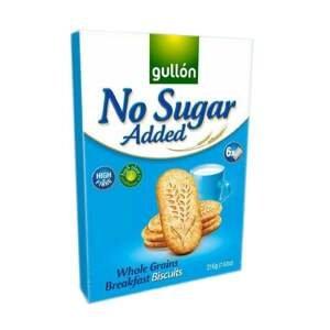 Gullón Breakfast celozrnné sušenky, bez přídavku cukru 216 g