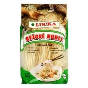 Lucka Těstoviny nudle rýžové 3 mm bezlepkové 240 g