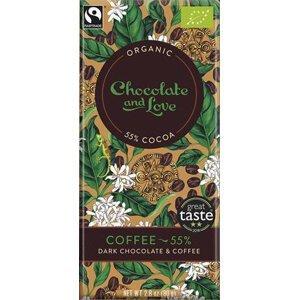 Chocolate and Love Coffe 55 % BIO 80 g